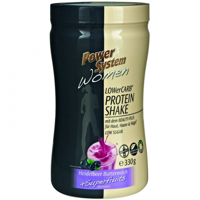 POWER SYSTEM WOMEN LOWerCARB PROTEIN SHAKE 330g