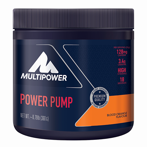 MULTIPOWER POWER PUMP 360g - nakopávač plus aminokyseliny