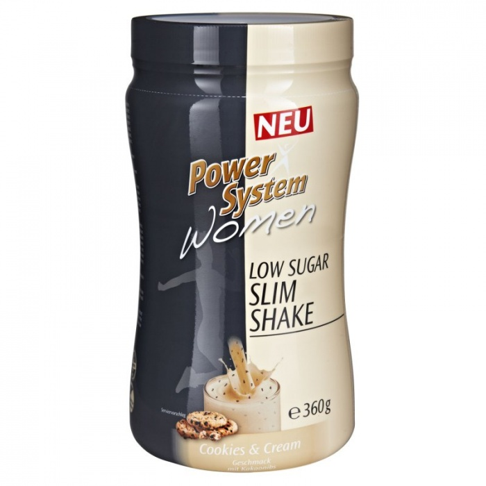 POWER SYSTEM LowSugar WOMEN SLIM SHAKE 360g