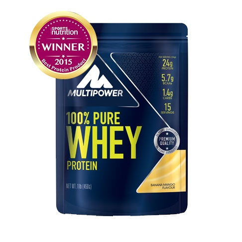 MULTIPOWER 100% PURE WHEY PROTEIN 450g - syrovátkový protein