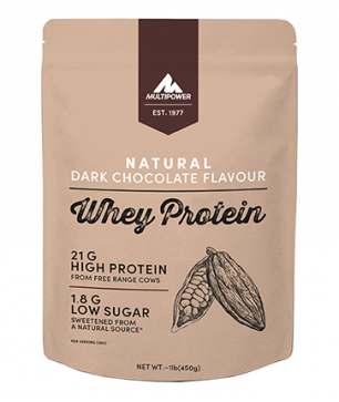 MULTIPOWER NATURAL WHEY PROTEIN 450g syrovátkový protein