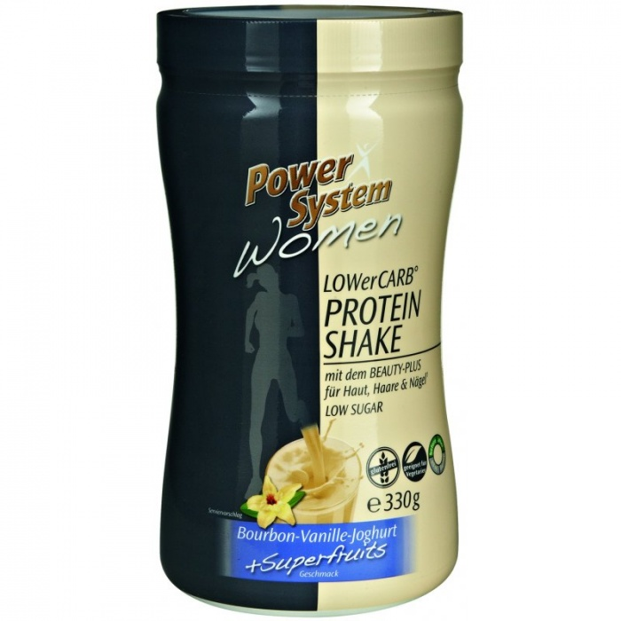POWER SYSTEM WOMEN LOWerCARB PROTEIN SHAKE 330g 1+1 ZDARMA