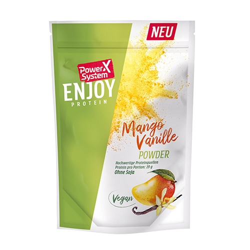 POWER SYSTEM ENJOY VEGAN PROTEIN 360g mango-vanilka