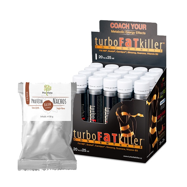 WELLNESS FOOD Turbo Fat Killer 20x25ml + DÁREK