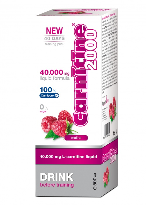 WELLNESS FOOD karnitin CARNITINE 2000 500ml