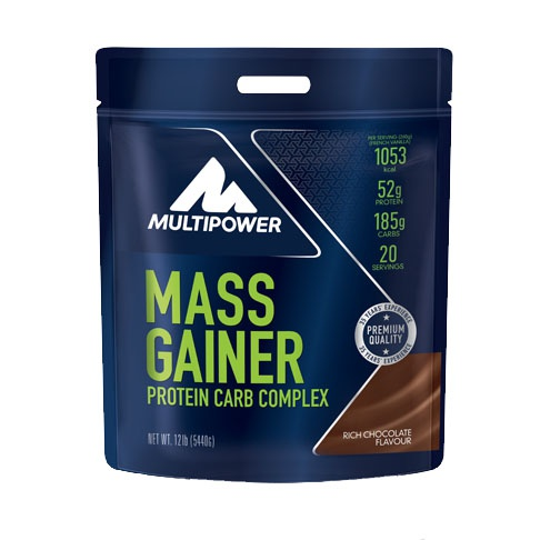 MULTIPOWER MASS GAINER 5440g - koncentrované sacharidy