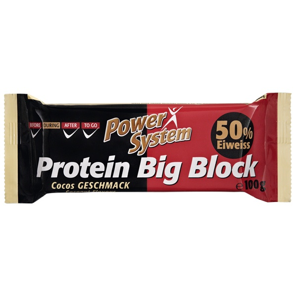 POWER SYSTEM PROTEIN BIG BLOCK 50%