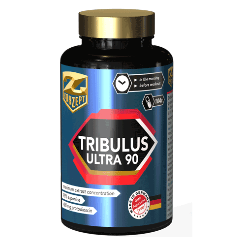 Z-KONZEPT NUTRITION TRIBULUS ULTRA 90% - 102 CAPS