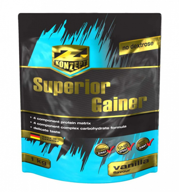 Z-KONZEPT NUTRITION SUPERIOR GAINER 4000 G