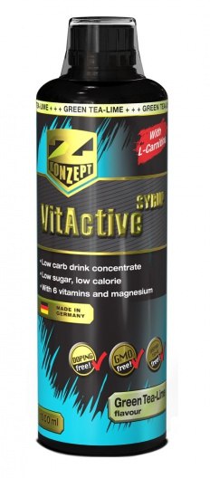 Z-KONZEPT NUTRITION VIT ACTIVE SYRUP ENERGY BOOST