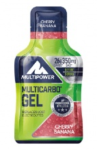 MULTIPOWER MULTICARBO ENERGY GEL maltodextrin  - fruktóza